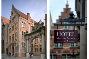 Hotel Martins Brügge Belgien 9