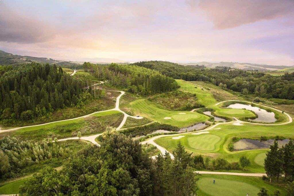 Toskana CASTELFALFI Golfurlaub