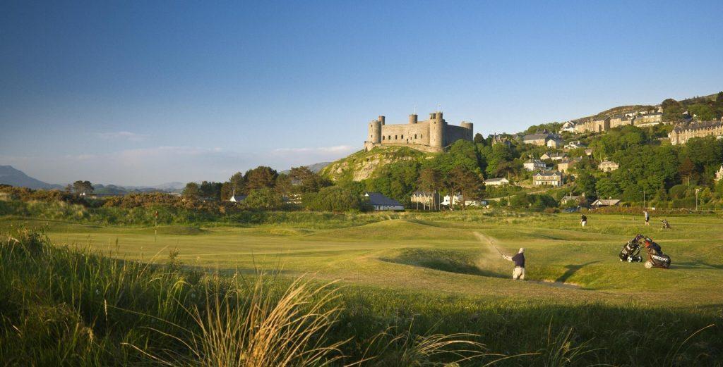 Wales The Crccieth Hotel Golfurlaub