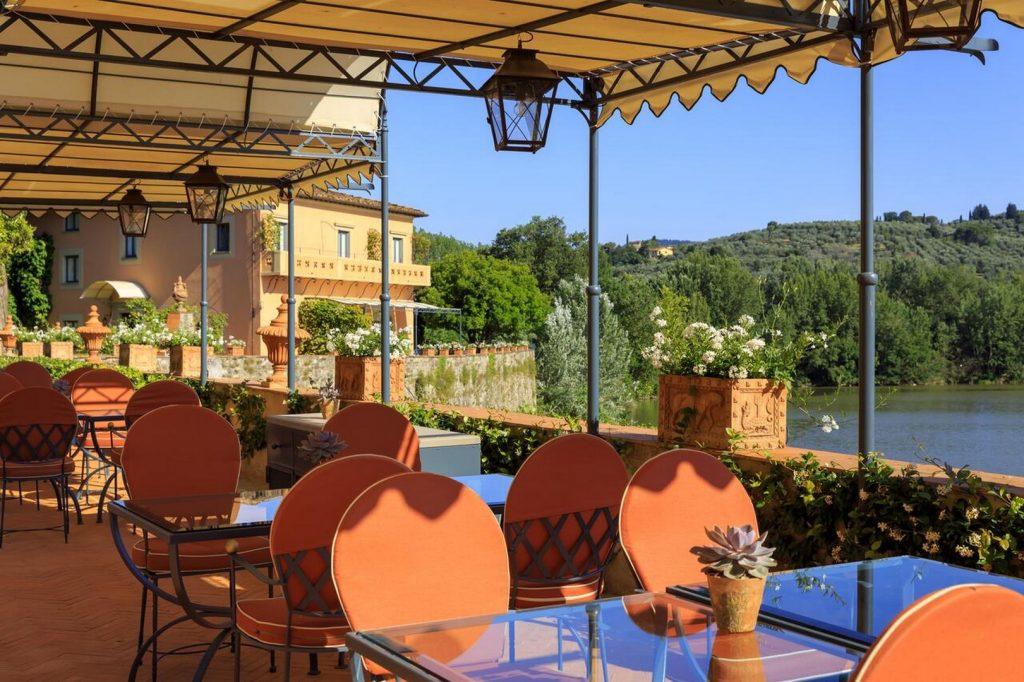 Villa La Massa Toskana 9