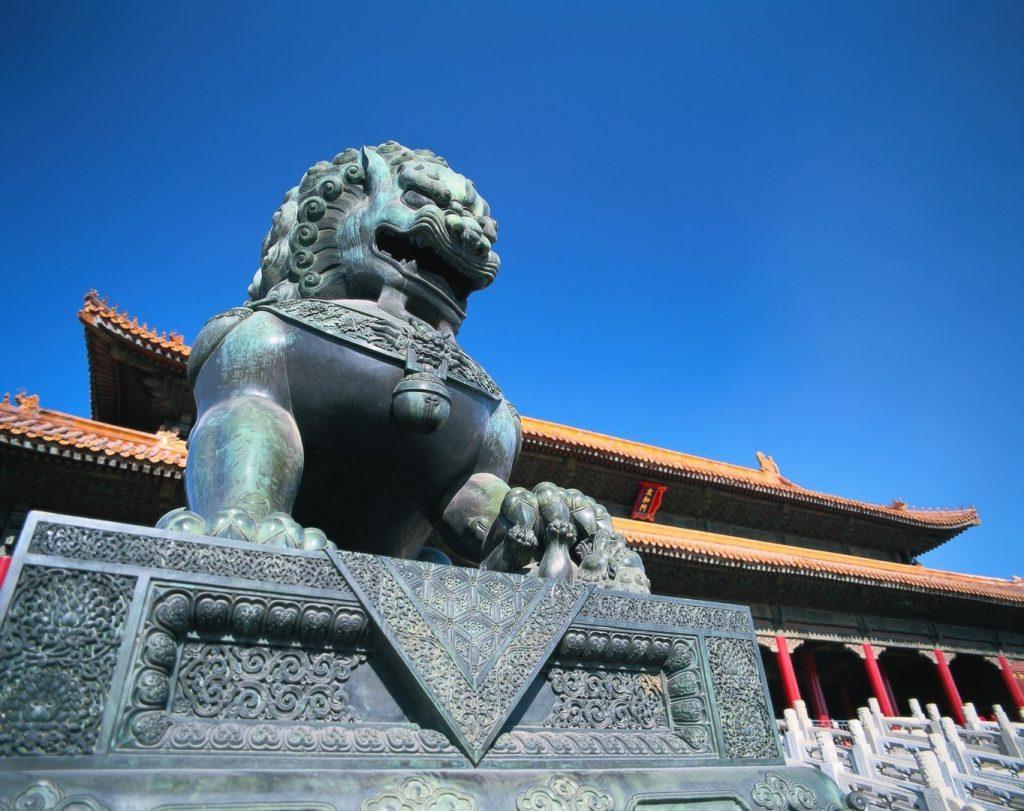 Golfen in der Kaiserstadt Peking = Beijing.