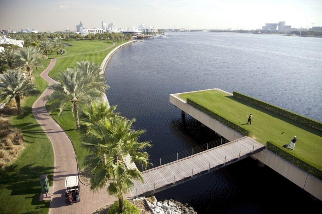 Golfen in Dubai 9