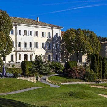 Le Château de Taulane Provence Reise
