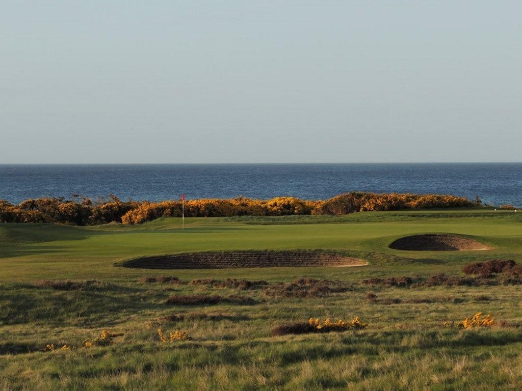 Schottland Links House Golfurlaub