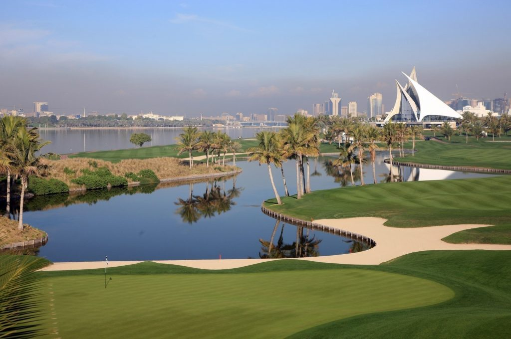 Golfen in Dubai 13