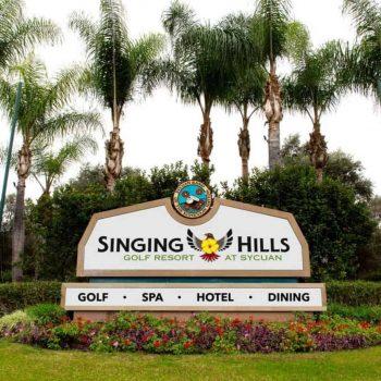Kalifornien SINGING HILLS Golfresort