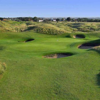 """""""The Open"""" Golfturnierreise."""
