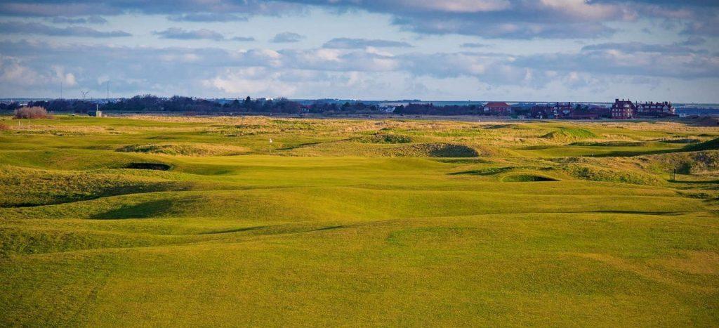 """""""The Open"""" = Golfturnierreise in England."""