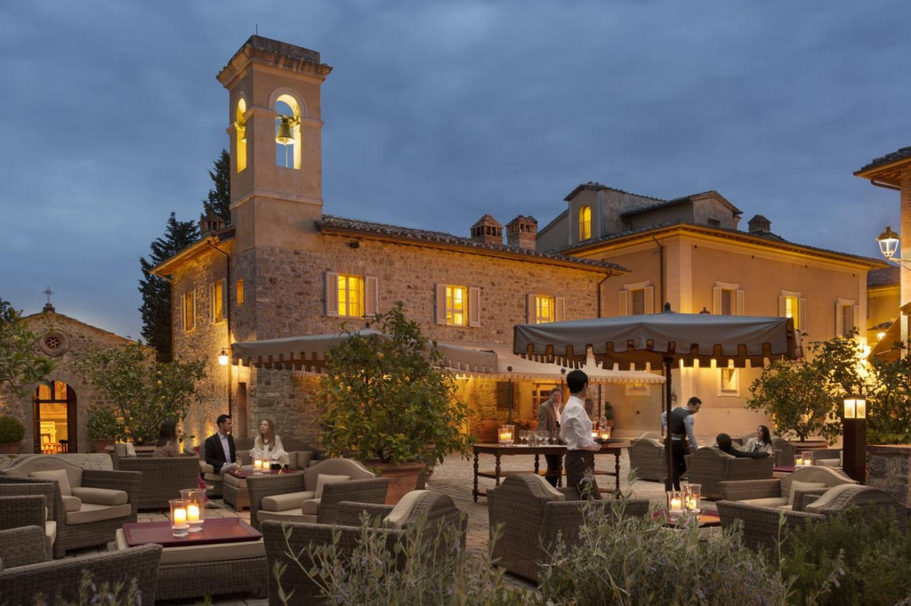 Italien Rosewood Castiglion Golfurlaub